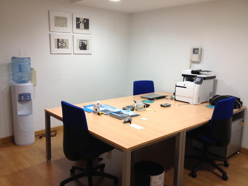 Oficina De Las Nuevas Instalaciones De Toqi Toqi