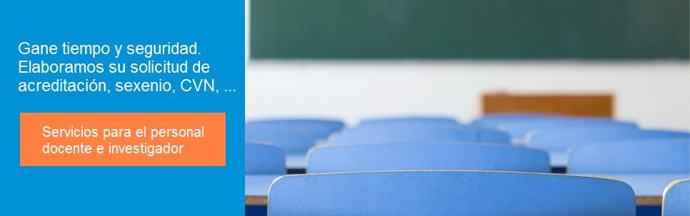Profesores – Universidad – Acreditación – ANECA – Sexenios – CVN